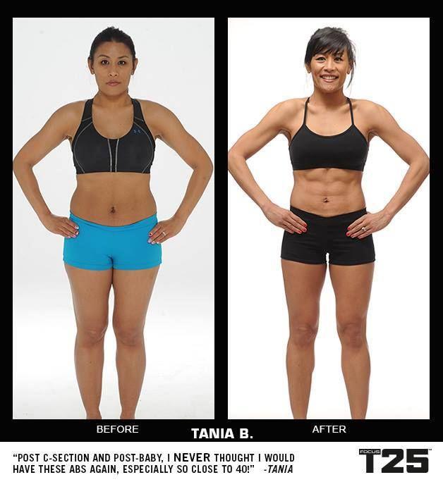 p90x3 vs perdita di peso t25