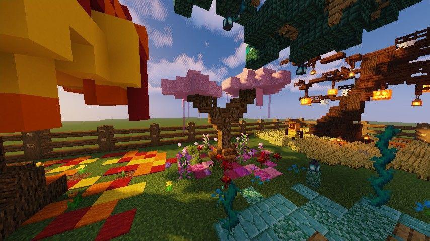 Custom Minecraft Handmade Pink Cherryblossom Tree Minecraft Decorations Minecraft Projects Pink Trees