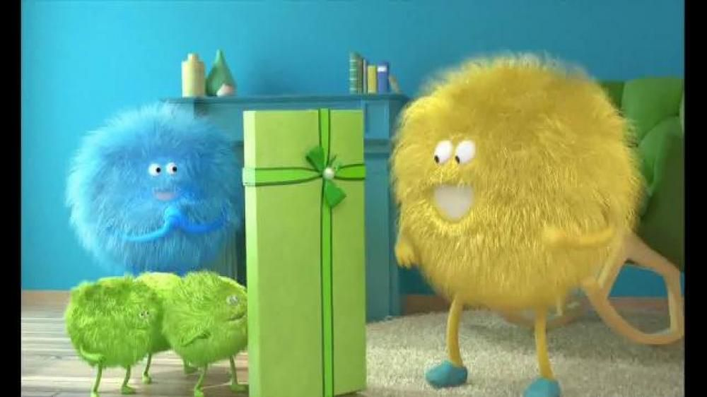 Cricket Wireless Tv Commercial Yellow Fuzzy Ball And Green Triangle Google Search Cricket Wireless Animated Cartoons Tv Commercials
