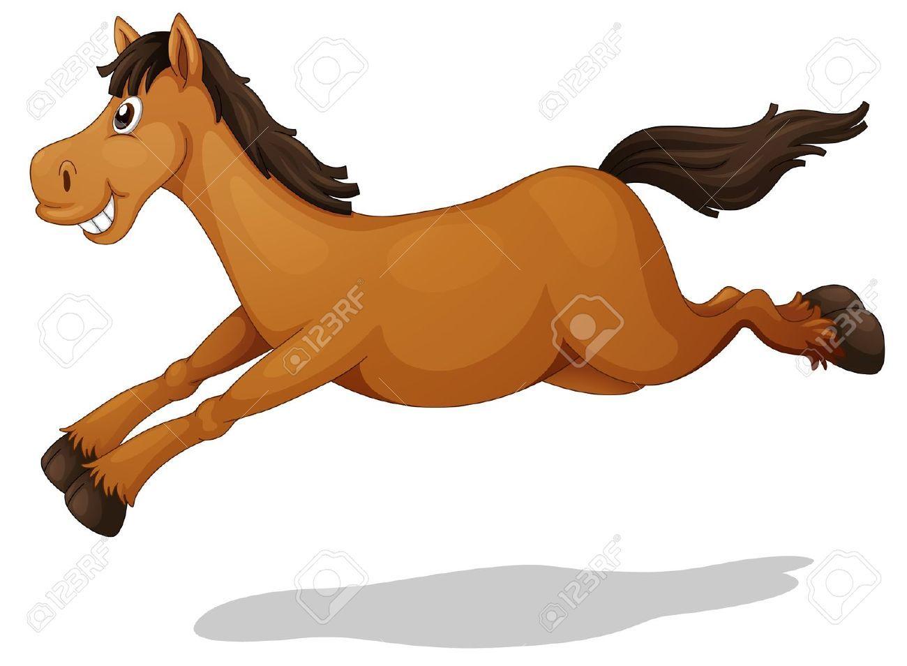 Horse Cartoon Stock Vector | ...