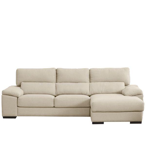 sof de plazas con derecho con pufs laterales incluidos jerte ii saln