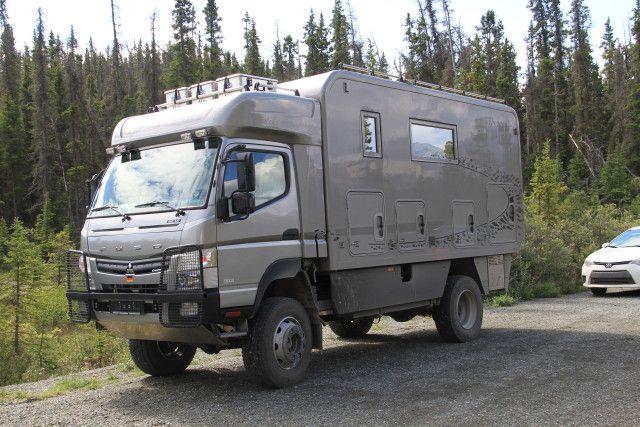 Mitsubishi Fuso FG 4x4 camper | Van/Truck/Car/RV/Trailer ...