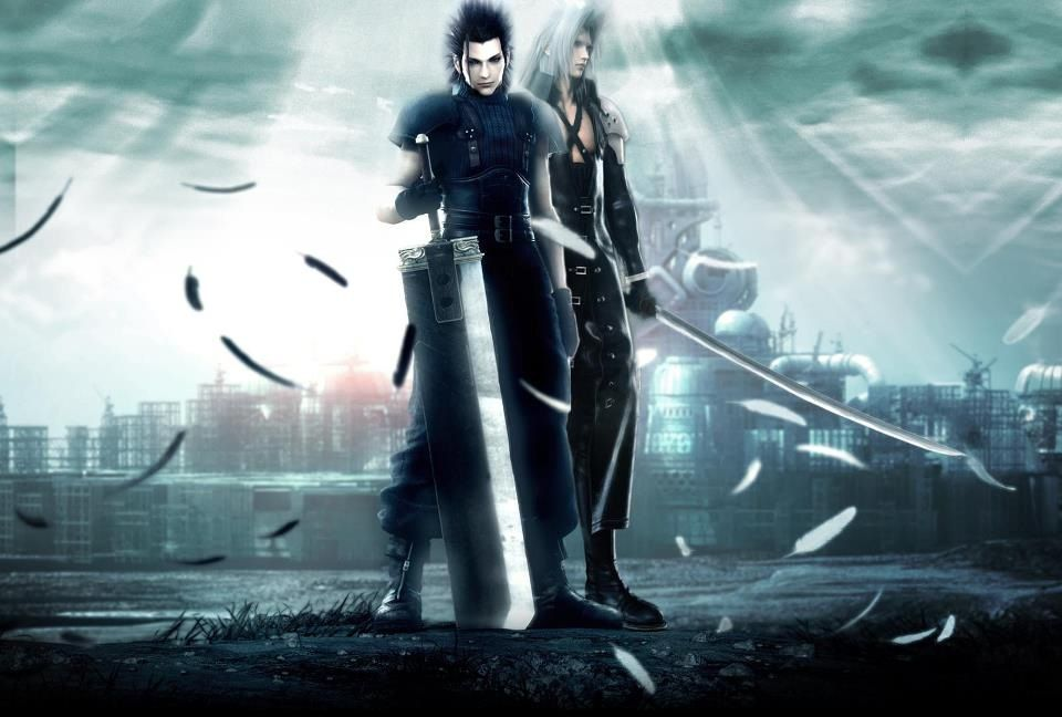 Zack Fair And Sephiroth Fan Art And Official Art Final