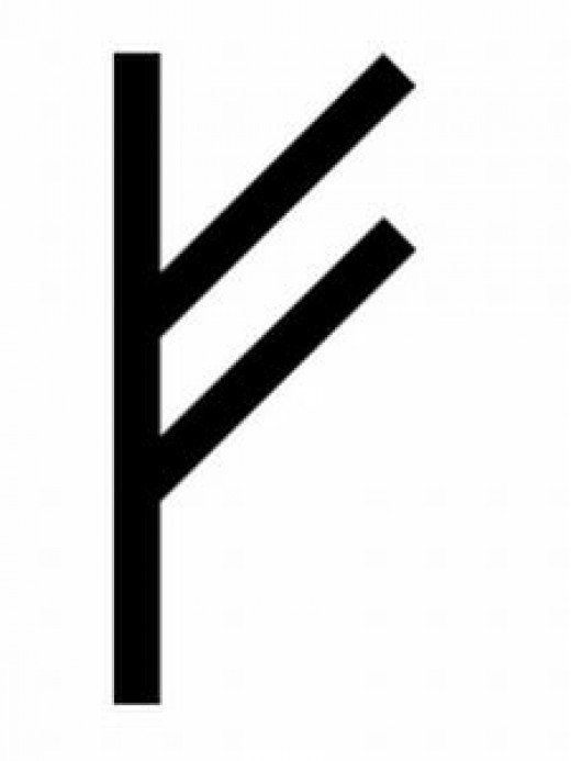 Rune Fa Prosperity Symbol Symbols Pinterest Runes Symbols