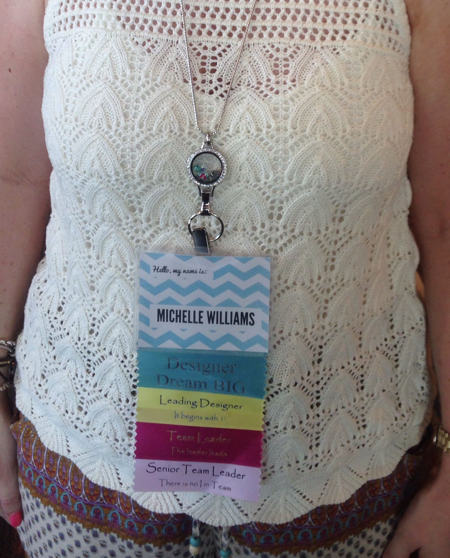 My new Origami Owl locket lanyard! Available with the fall ... - photo#6