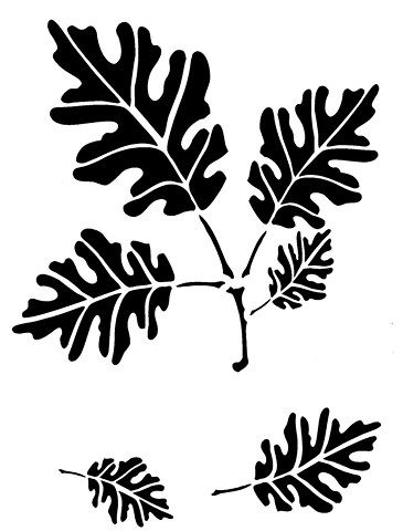 photograph regarding Printable Camo Stencils identified as Free of charge Printable Camo Stencils wanting Camo stencil, Leaf