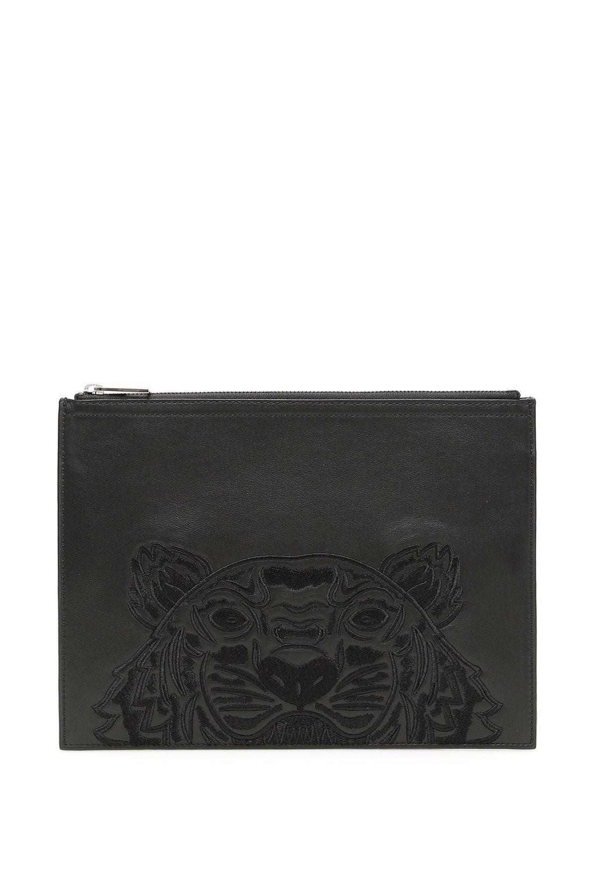 92726c5aef KENZO KENZO TIGER CLUTCH BAG. #kenzo #bags #leather #clutch #cotton ...