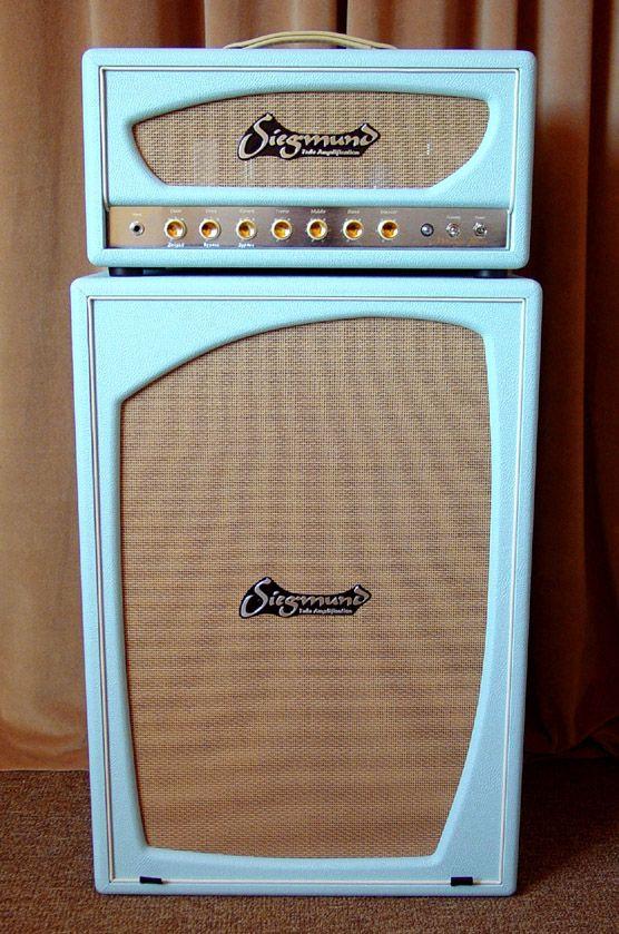 Siegmund Midnight Blues Boutique Amplifier Custom Handmade Vintage Electric Guitars Bass Amps Diy Musical Instruments