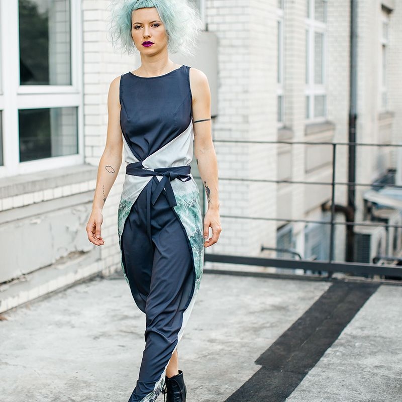 Kielo Wrap Dress By Named Clothing Buy Pattern Or O Diy