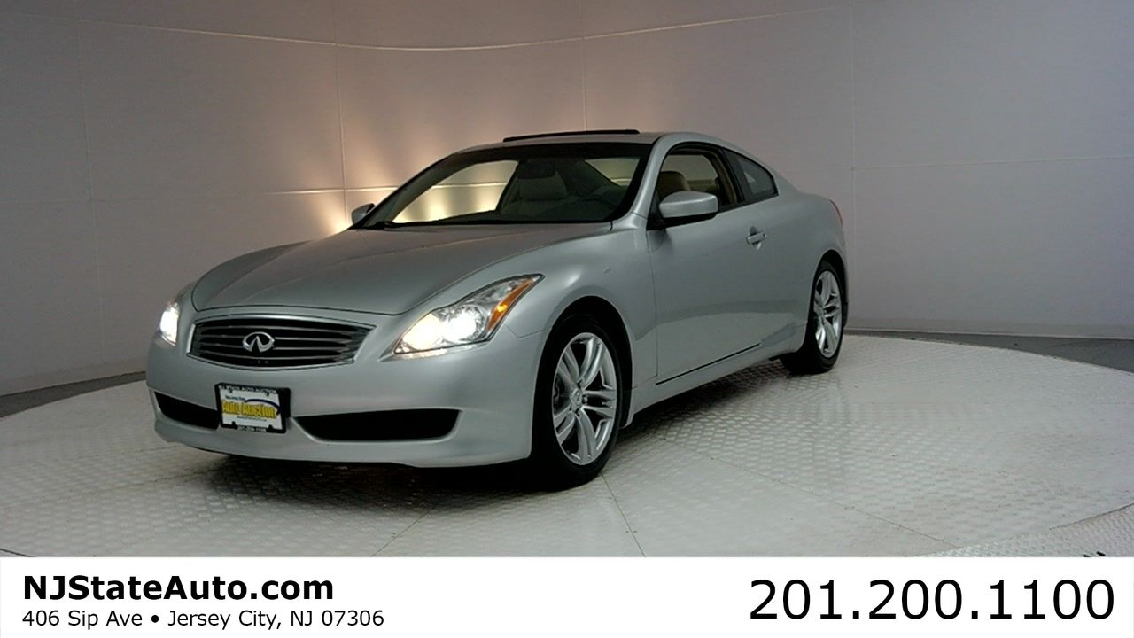 2008 INFINITI G37 Coupe 2dr Journey Jersey City NJ Auto