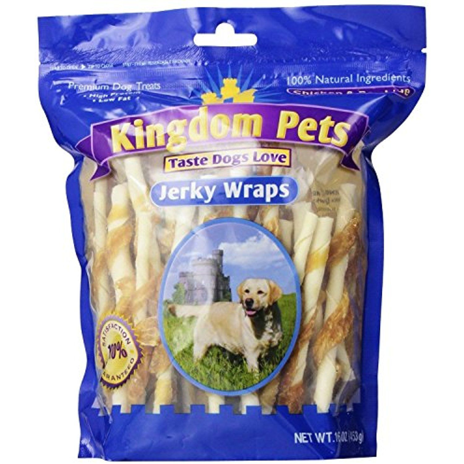 Kingdom Pets Premium Dog Treats Chicken And Rawhide Jerky Wraps 16 Ounce Bag You Can Read More Reviews Of The Pr Premium Dog Treats Dog Treats Dog Snacks