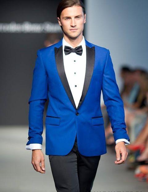 Imagini pentru royal blue tuxedo jacket | CHESTI DE IMBRACAT 2 ...