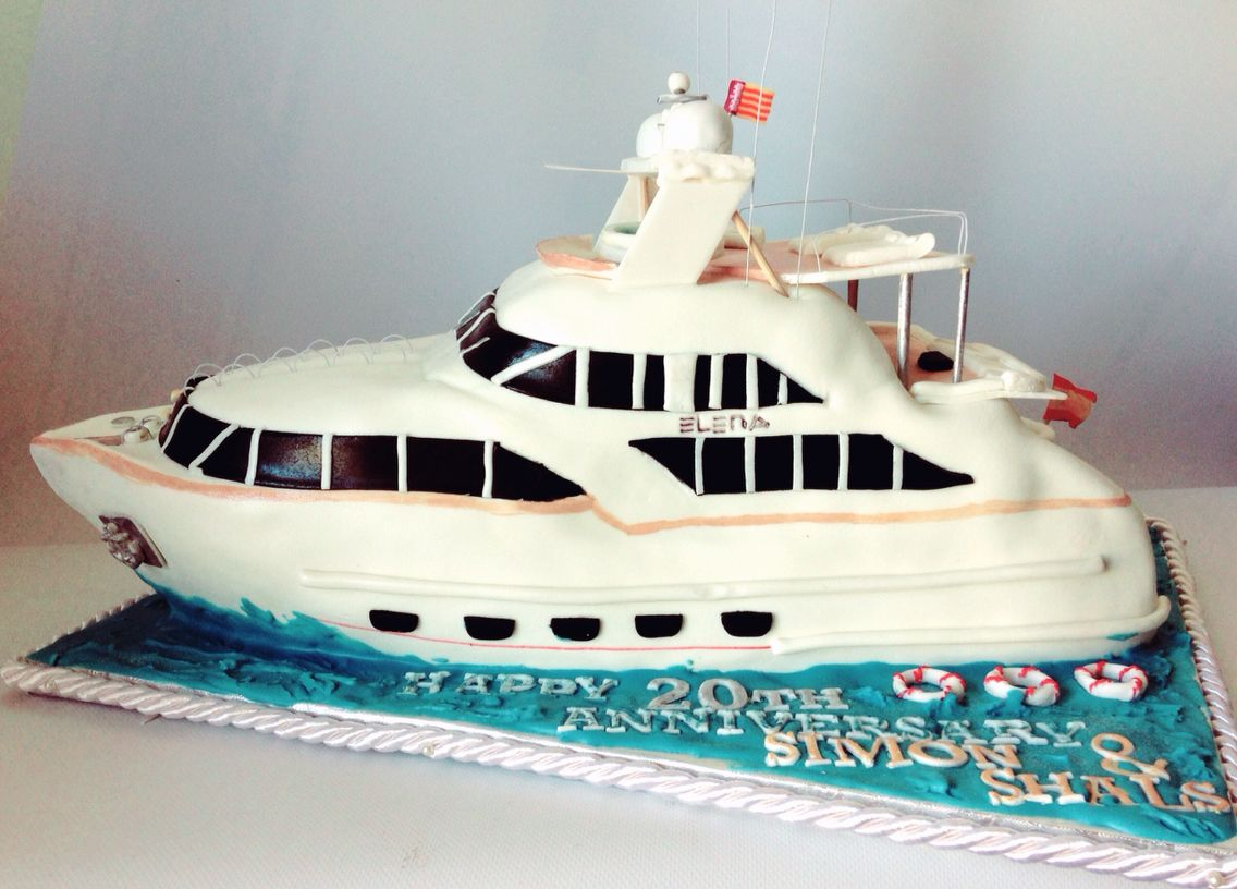 Luxury Yacht Cake Elena Tarta Jate De Lujo Barco Boat Luxusyacht Torte By Atelier Pastry Fork Mallorca With Images Boat Cake Nautical Cake Cake