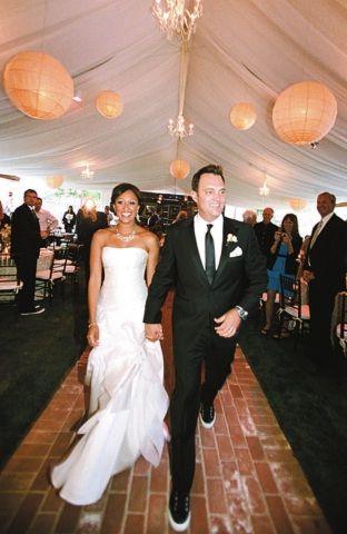 Tamera Mowry Adam Housley Wedding Dresses Wedding Celebrity