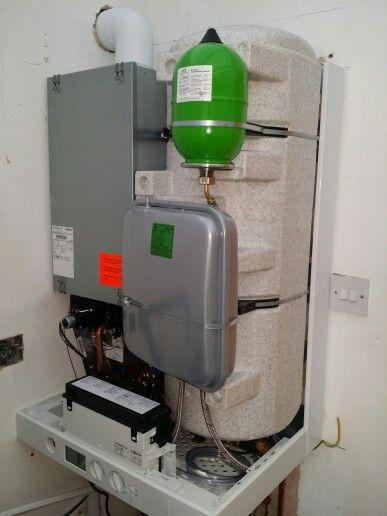 Combi boiler witch storage hot water. #plumbinglondon #plumbing ...