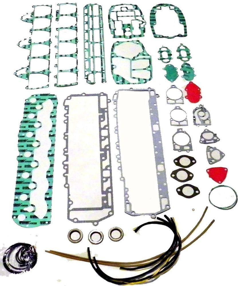 wsm outboard mercury 90 150 hp inline 6 cylinder gasket kit 500 215 27 60476a mercury [ 856 x 1000 Pixel ]