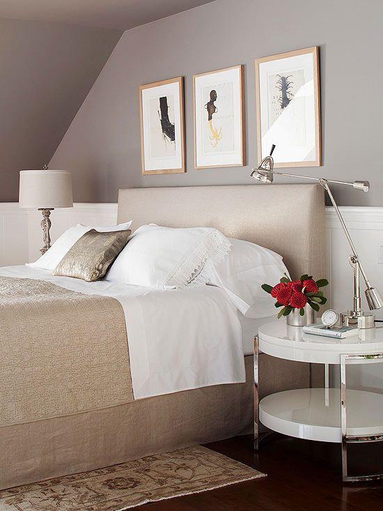 Modern Decor Bedroom color schemes, Modern bedroom