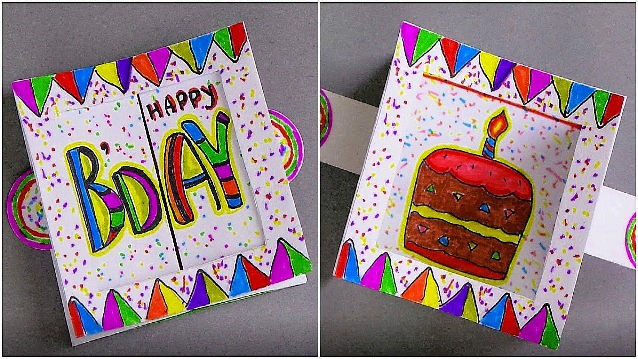 Diy birthday card handmade greeting card making ideas
