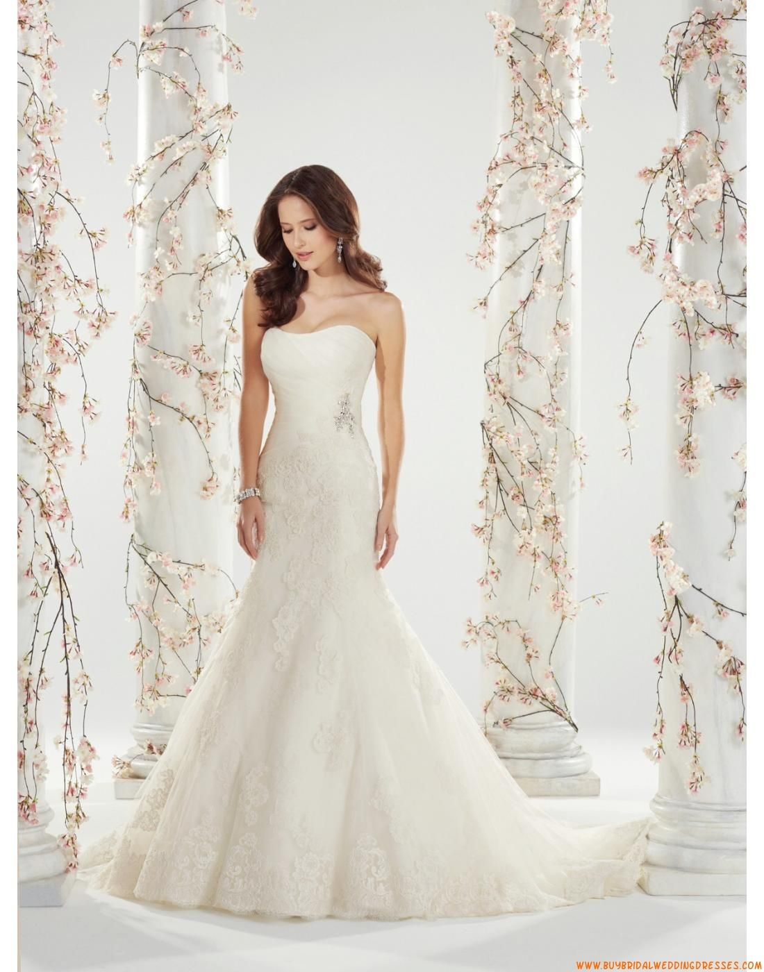 Strapless Sophia Tolli Wedding Dresses - Style Shireen Y11410