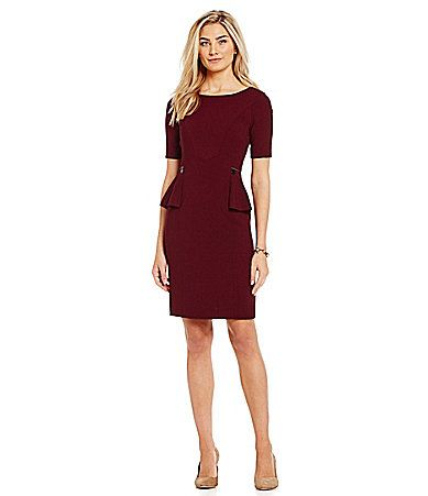 Antonio Melani Paloma Peplum Dress #Dillards   My Style ...