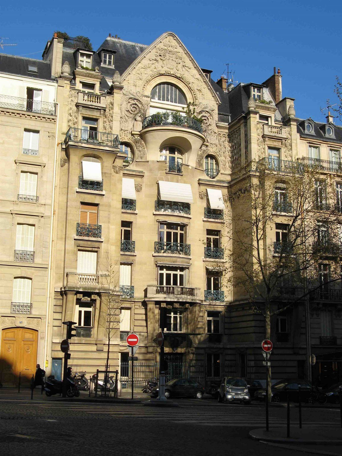 immeuble watel 1914 30 avenue marceau paris 75008 architecte