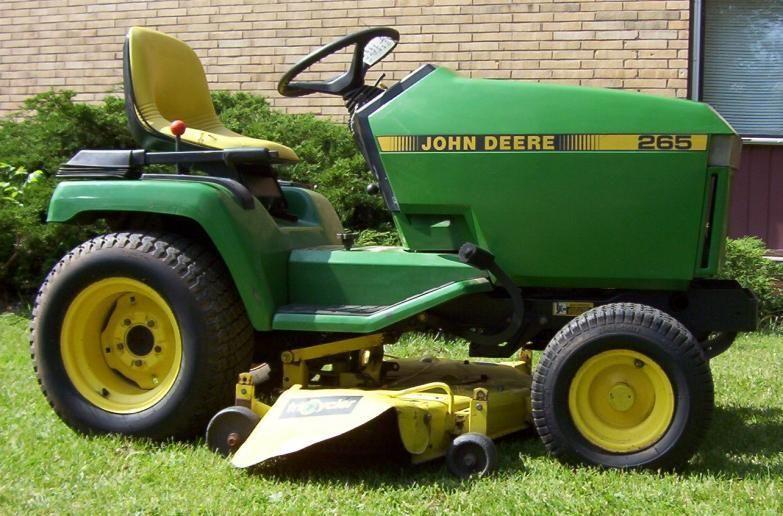 john deere 265 lawn tractor service repair manual john deere
