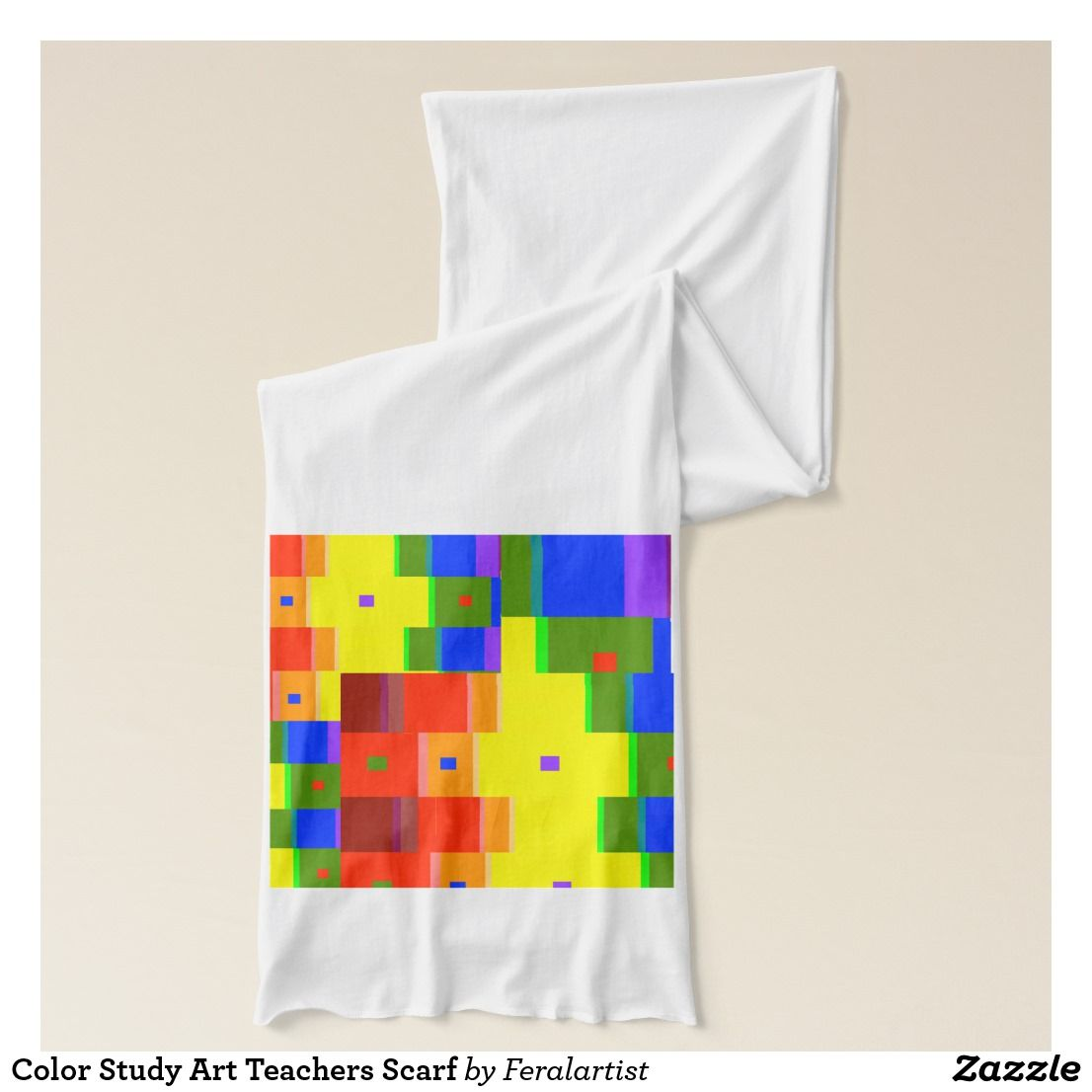 Art Teacher Clothing  Color Study Art Teachers Scarf