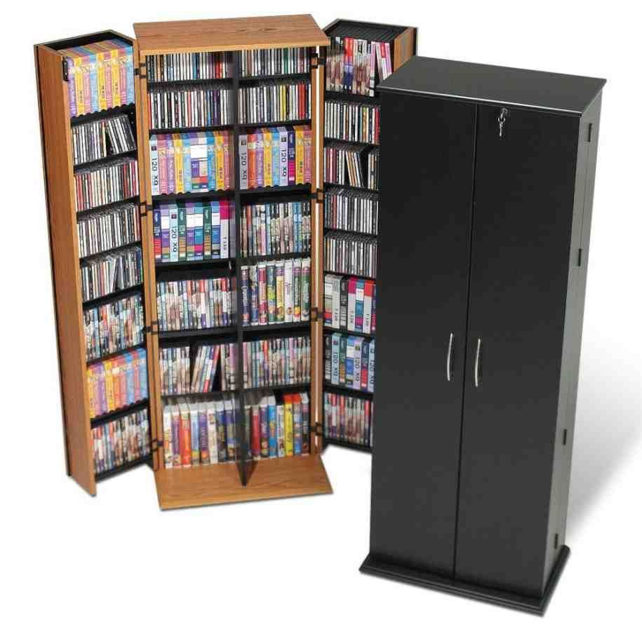 Genial DVD Storage Cabinets With Doors