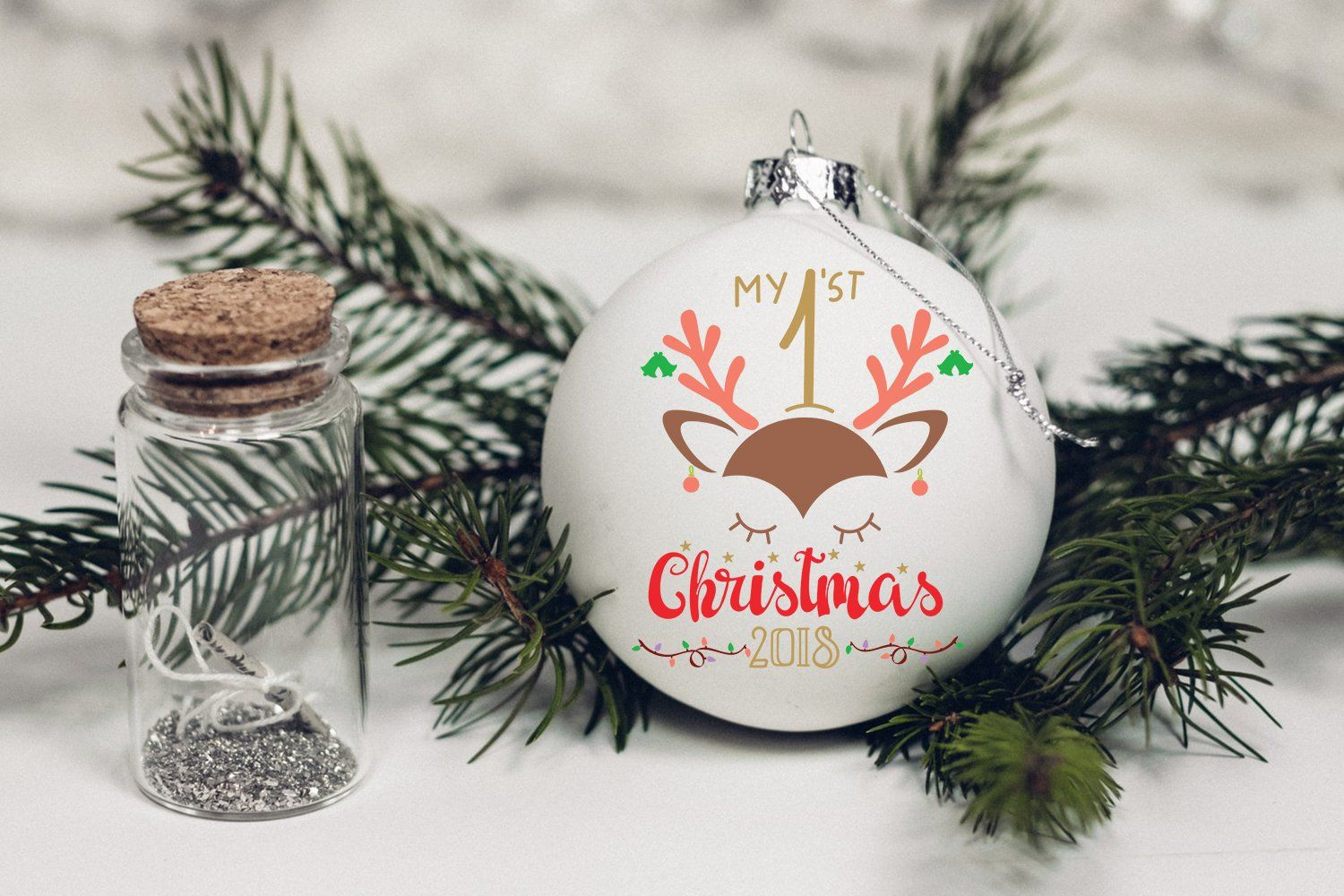 Cricut Projects Christmas Ornaments Glass Ball Cricut Projects Christmas Dollar St Christmas Crafts For Gifts Baby Christmas Crafts First Christmas Ornament