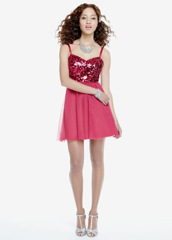 Cute homecomingprom dress from davidus bridal dresses pinterest