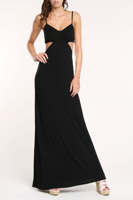 Cassandra Maxi Dress In Black