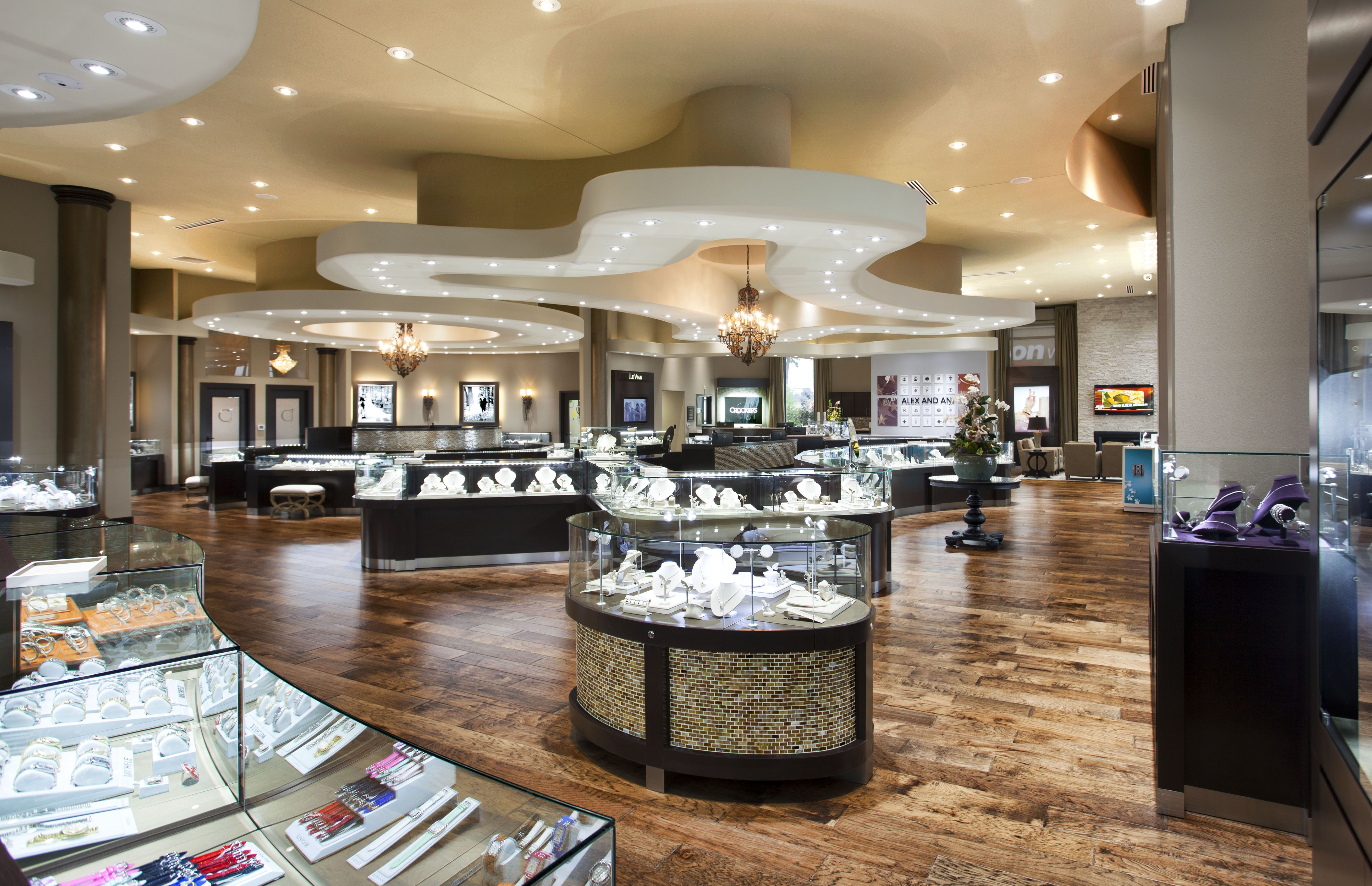 Crocker's Jewelers Manufacture & Design of Store Fixtures by Artco Group.  Proudly Made in America