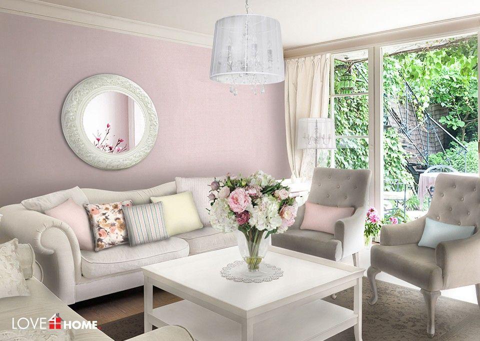 Wei Schwarz Rosa Wohnzimmer