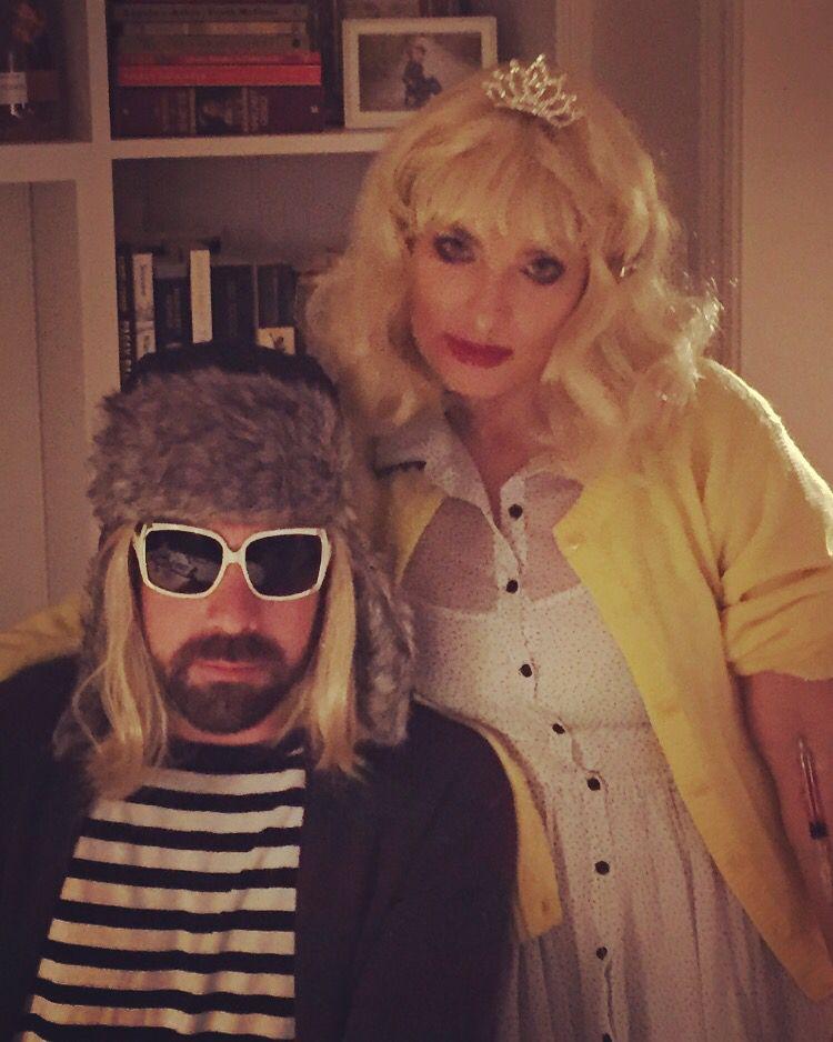 Halloween 2015 costume Kurt Cobain and Courtney Love 90s ...