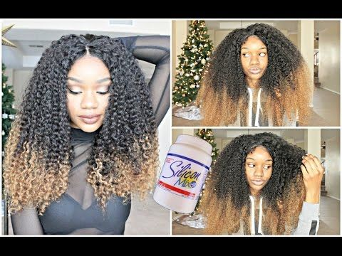How To Revive Refresh A Curly Synthetic Wig The Heathers Youtube Curly Lace Wig Natural Hair Styles Curly Full Lace Wig