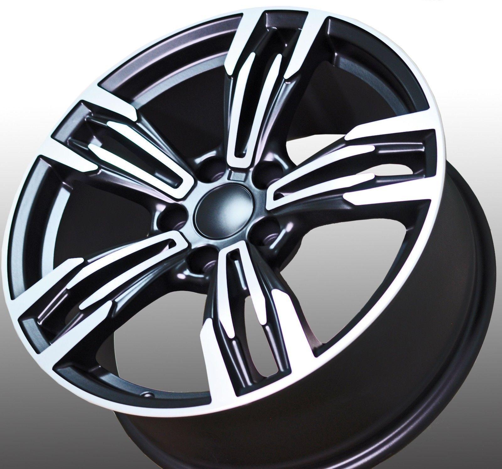 "Bmw Z4 Custom Wheels: 18"" NEW BMW M6 Style Staggered Wheels RIM FIT 1 2 3 4 5"