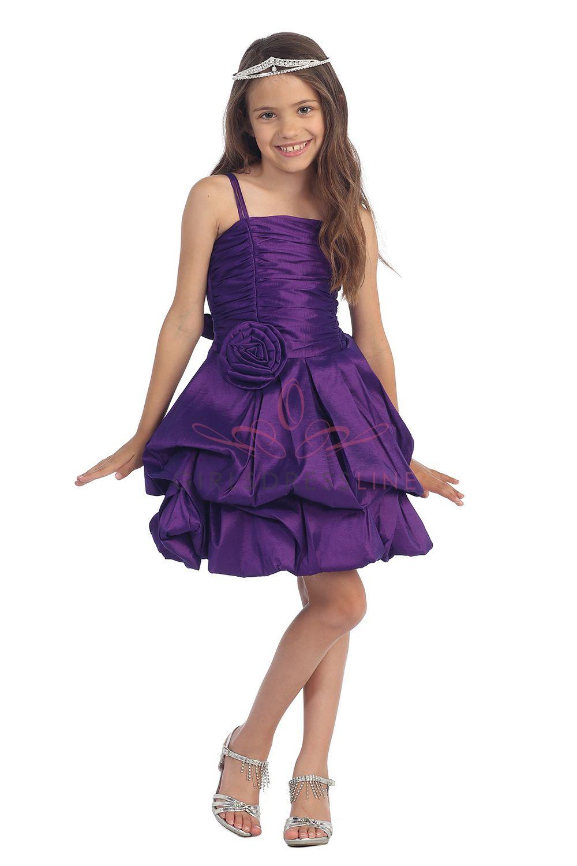 Purple flower girl dresses designer purchase rated girl