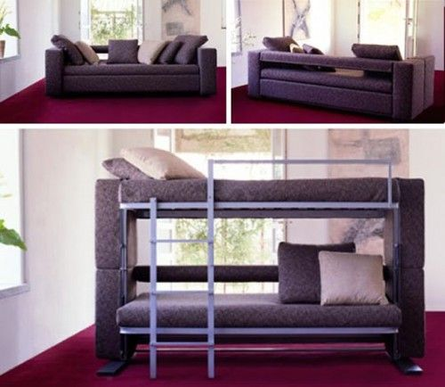 Couch That Turns Into A Bunk Bed