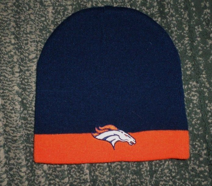 reputable site 875da c30b8 ... men s orange blue denver broncos nfl promo stocking hat one size  stretch guc denver mls · san francisco 49ers new era knit hat gray  thanksgiving beanie ...