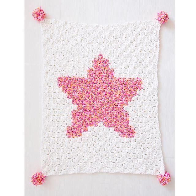 C2C corner to corner crochet star blanket | Crochet/Knit/Sew Crafts ...
