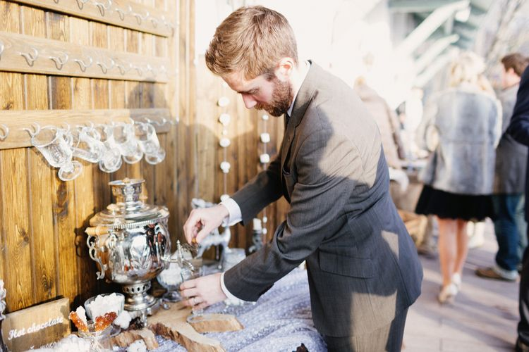 Hot drinks for winter wedding | Fab mood #winterwedding #wintertale