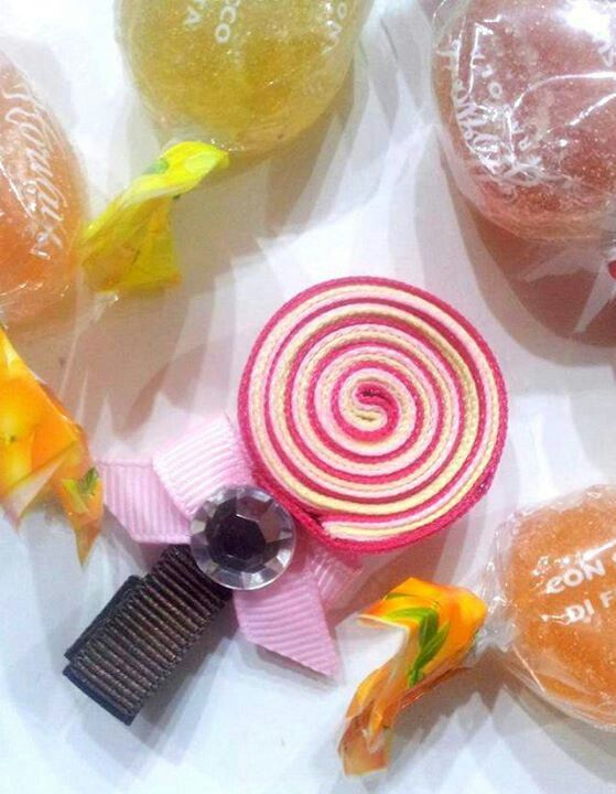 Mollettina per capelli - lollipop hair clip