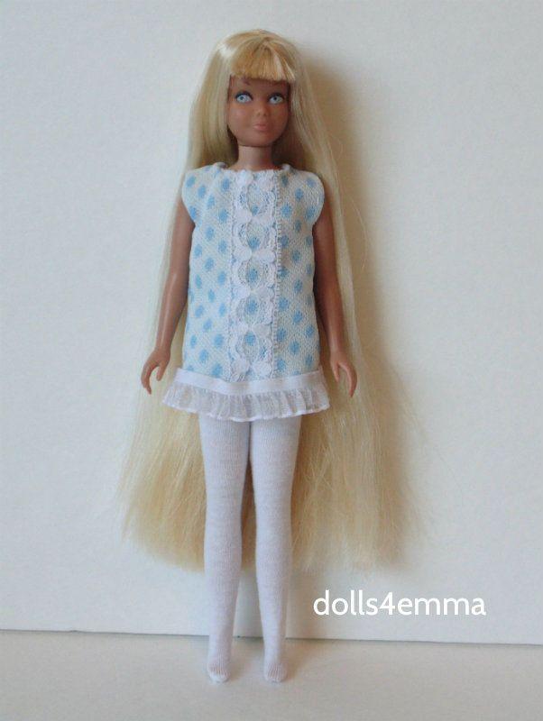 Vintage Skipper Doll Clothes Retro DRESS & LEOTARDS Handmade Fashion NO DOLL d4e