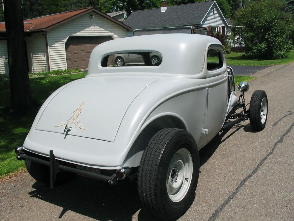 1934 Ford boxed frame | 1934 Ford 3 Window Coupe Old School Hot Rod ...