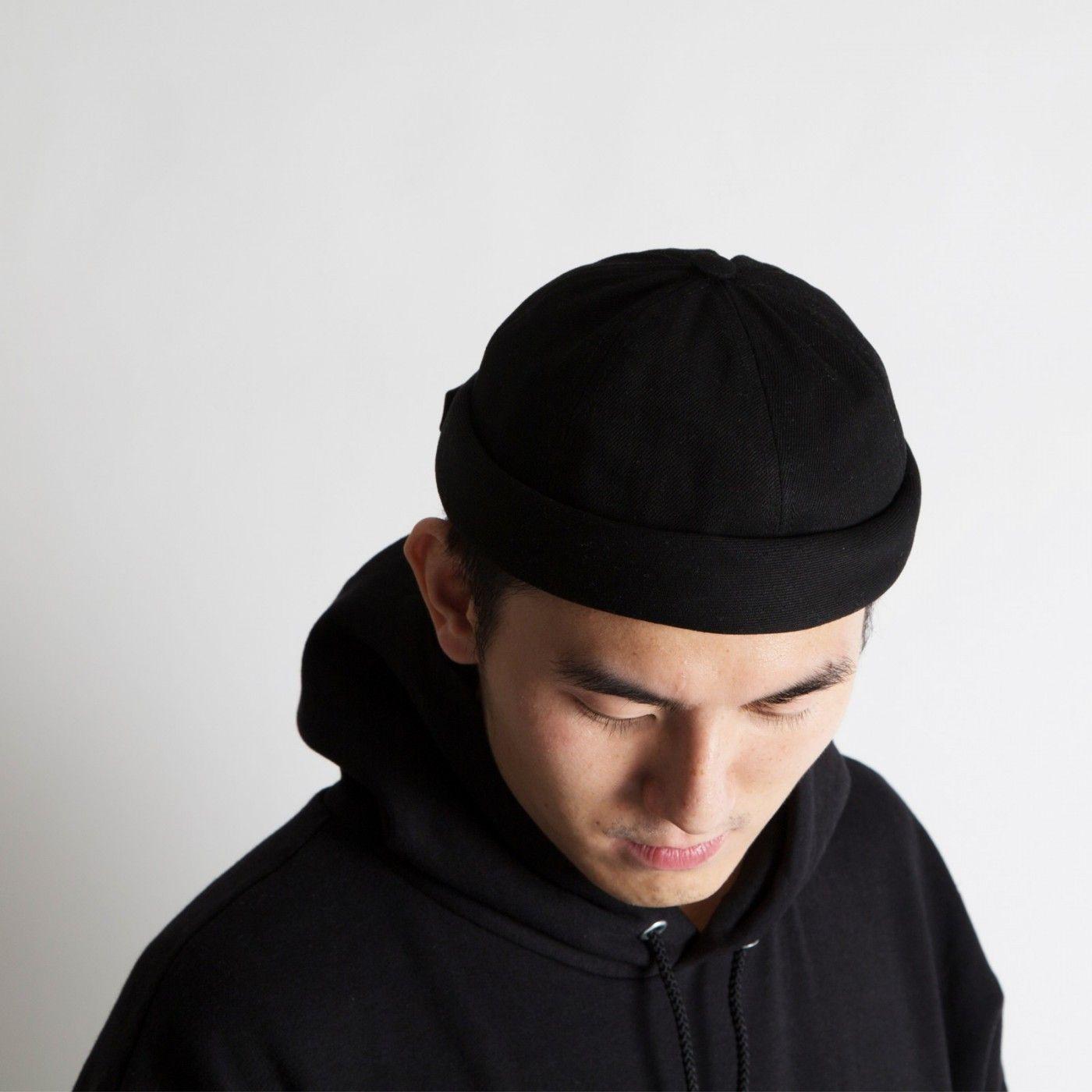 black miki hat, béton ciré. | Miki, Streetwear fashion, Hats