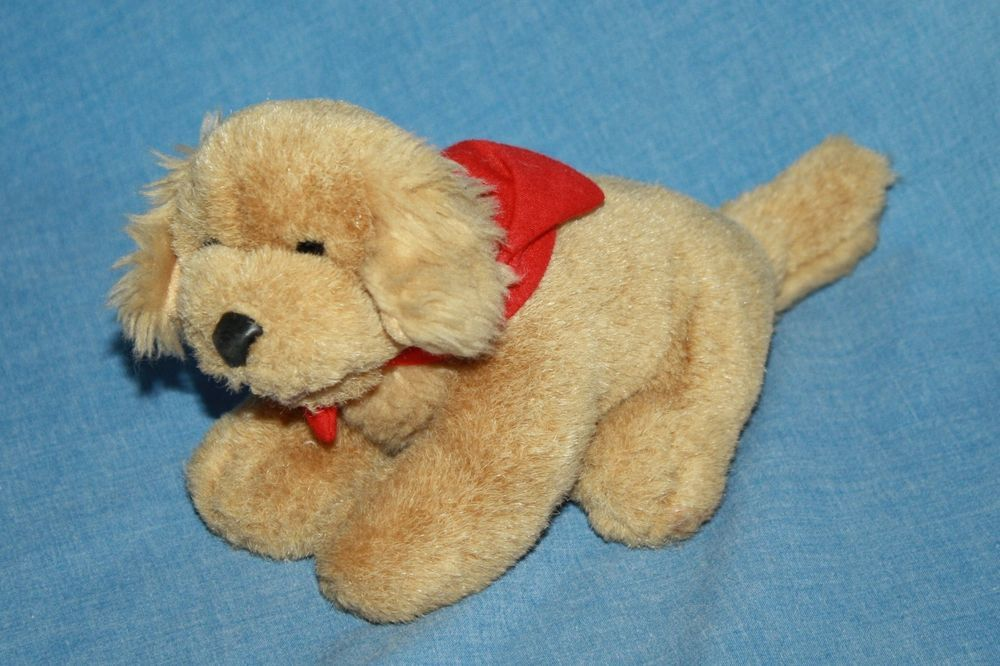 Build A Bear Plush Golden Retriever Dog Rare Mini Puppy Brown Tan