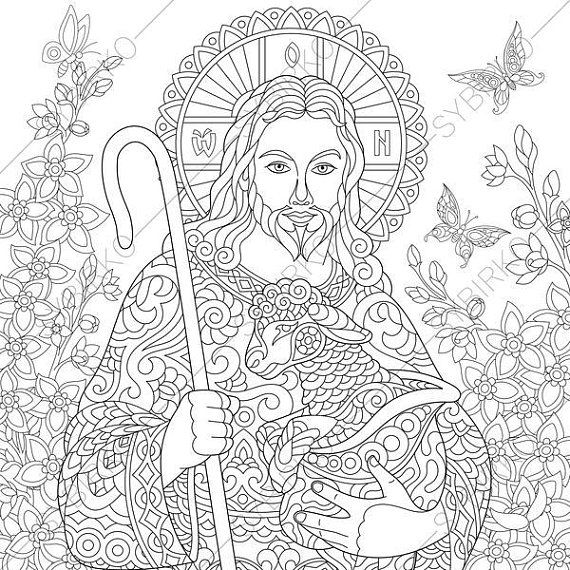 2 easter coloring pages religious coloring book pages for - Religious Coloring Books 2