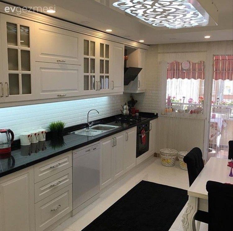 5000 Mutfak Dolabi Modeli Ve Sahane Mutfak Dekorasyonu Ornekleri Ev Gezmesi Ic Tasarim Mutfak Mutfak Dekorasyonu Mutfak
