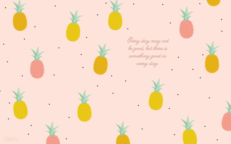 Girly Pineapple Wallpaper High Resolution Pineapple Wallpaper Calendar Wallpaper Desktop Wallpaper Art