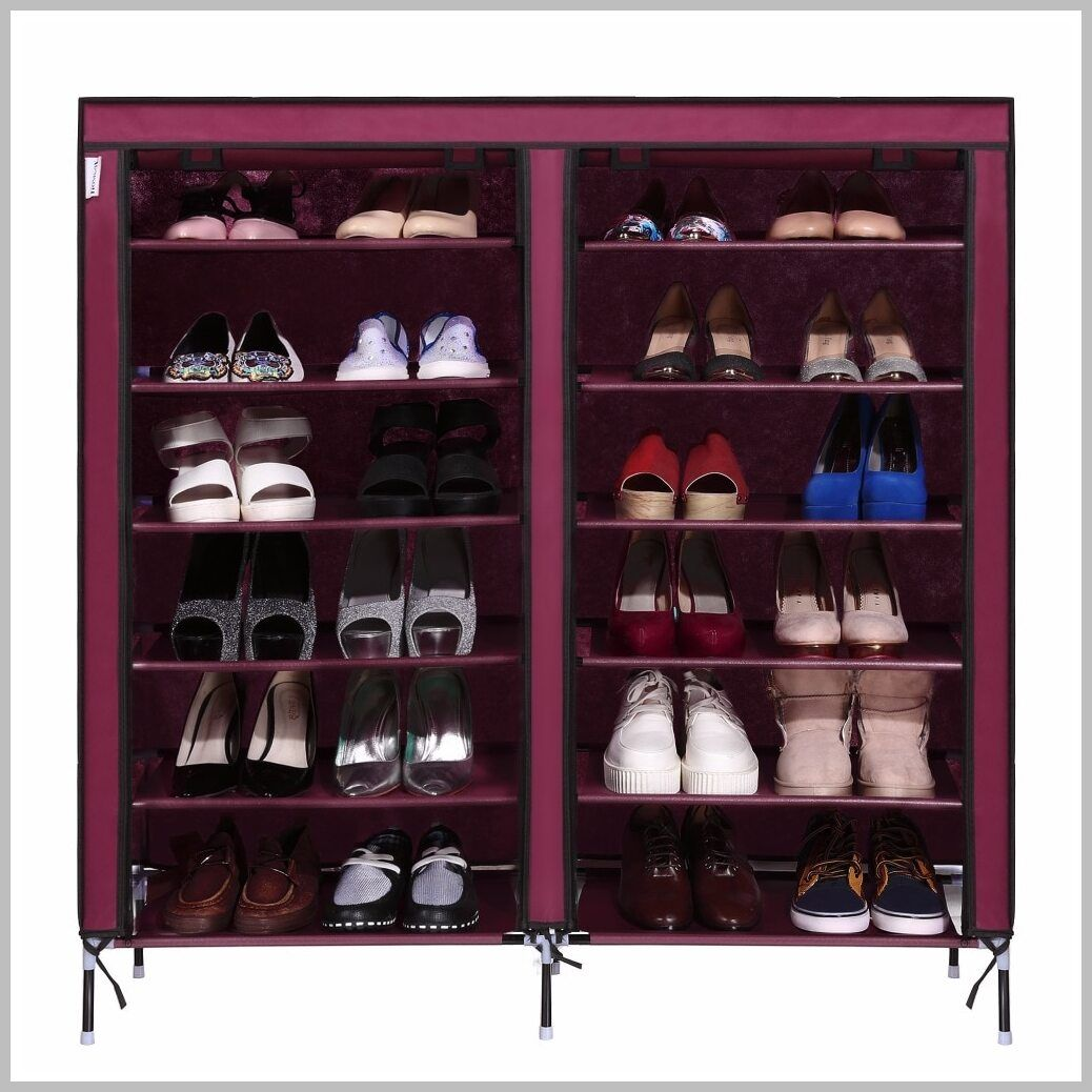 44 Reference Of Portable Storage Closet Shoe Organizer Rack In 2020 Closet Shoe Storage Shoe Organization Closet Shoe Rack With Shelf